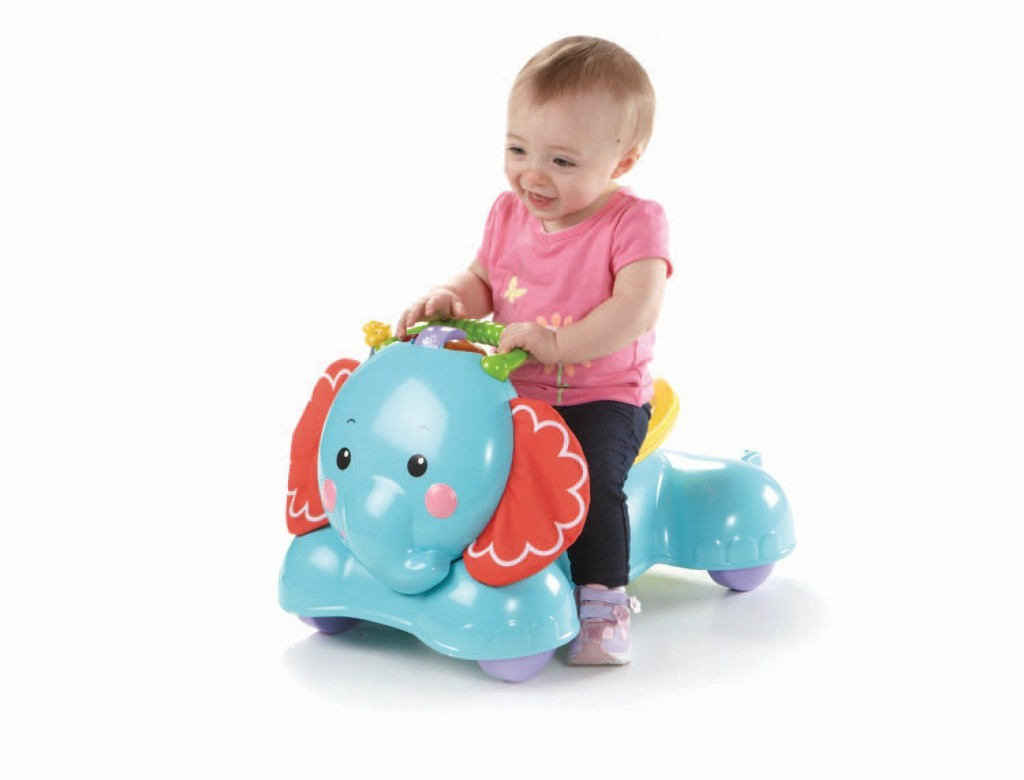 BounceStrideandRideElephantbyFisher Price
